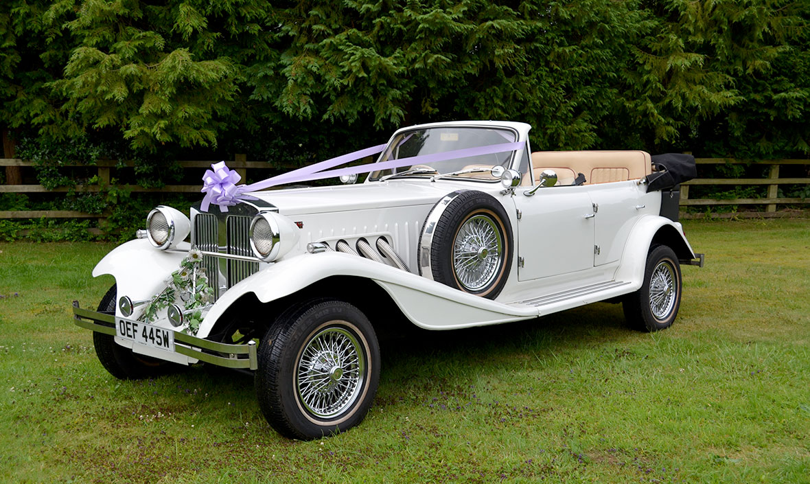 Beauford Series 1 Wedding Car Hire Leicestershire