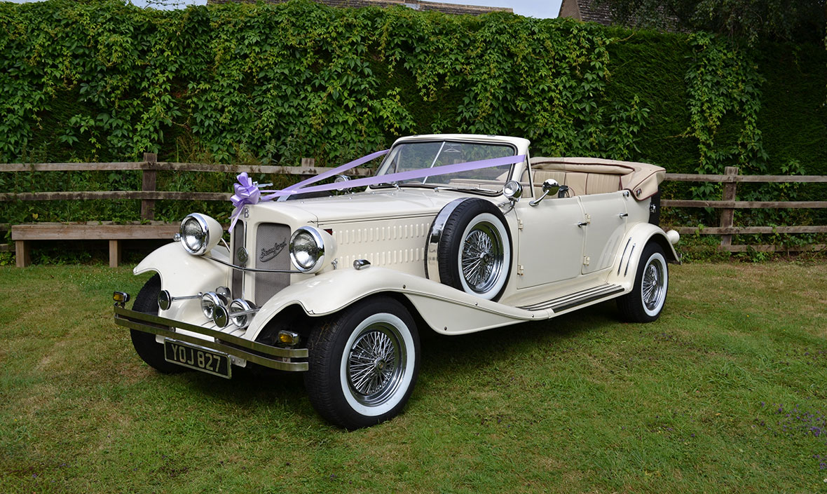 Beauford Series 2 Wedding Car Hire Leicestershire