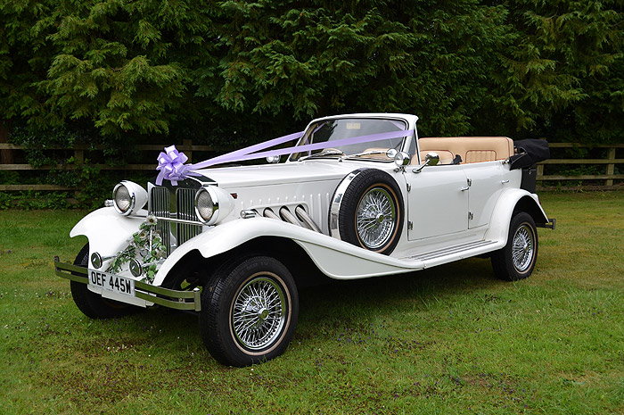 Beauford Wedding Car Hire Leicestershire
