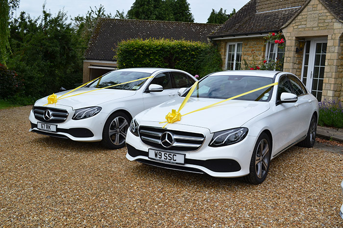 Mercedes Benz Wedding Car Hire Leicestershire