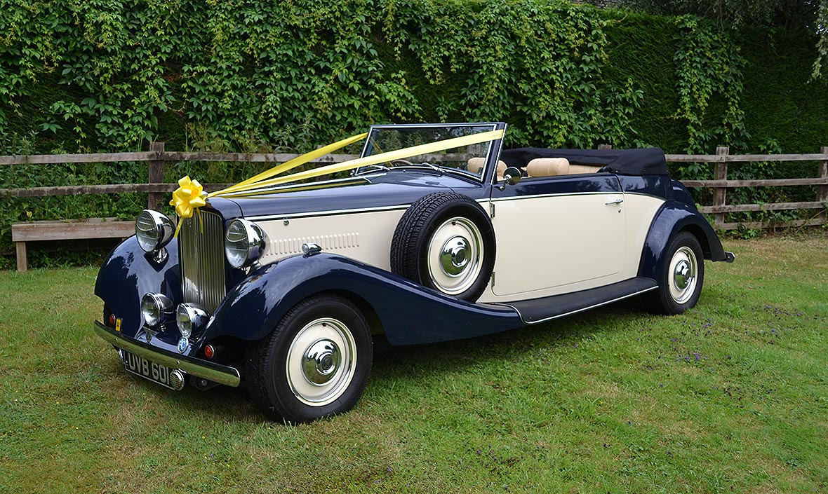 Royale Drophead Wedding Car - Exclusive Cars Leicestershire