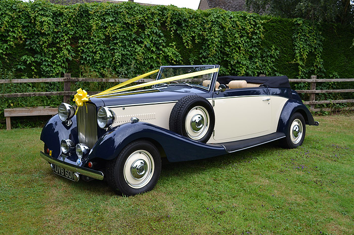 Royale Drophead Wedding Car Hire Leicestershire