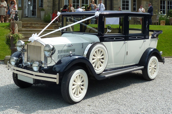 Viscount Landaulette Wedding Car Hire